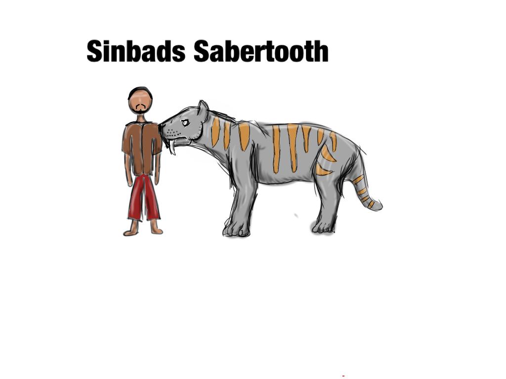 Sinbads sabre tooth by Covelloraptor
