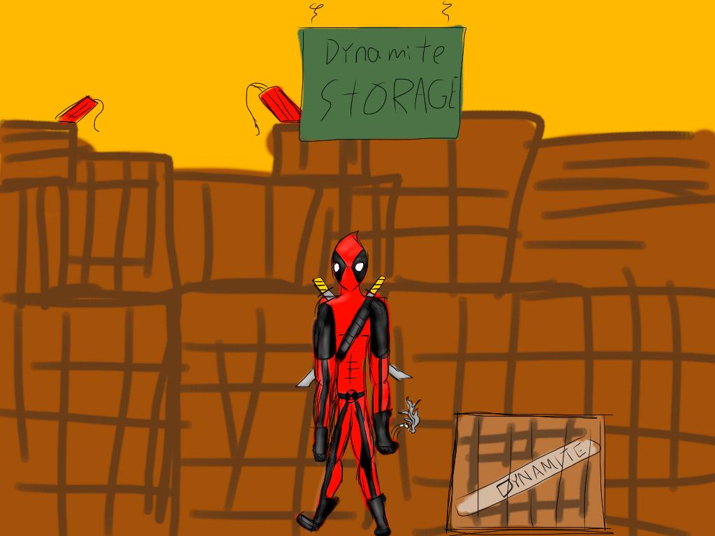 Deadpool by Covelloraptor