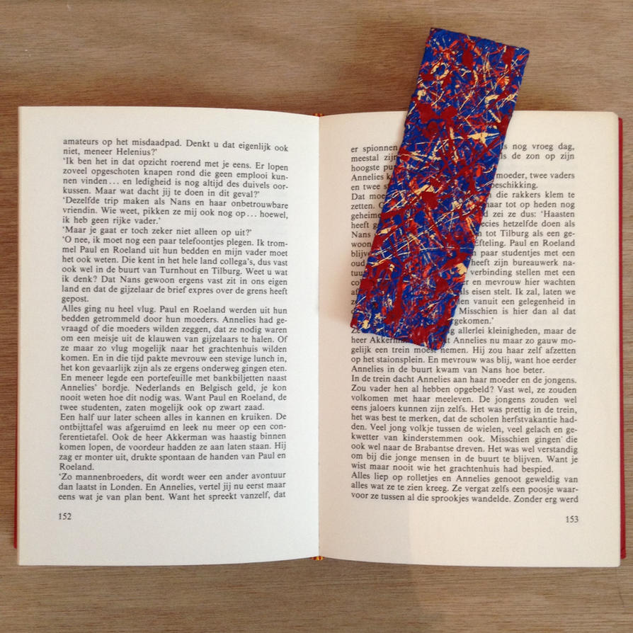 Bookmarker by lovelyartofpeople