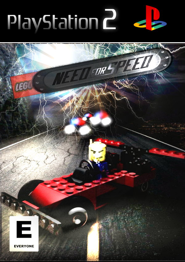 Lego Need For Speed Cover By Ryansd On Deviantart
