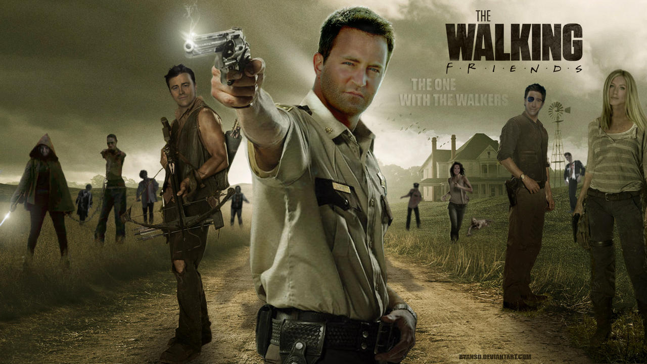 The Walking Friends - The One with the Walkers by ryansd