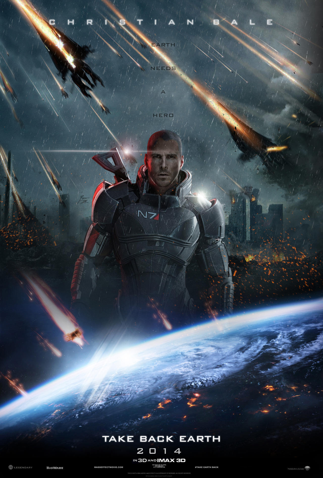 Mass Effect - Take Back Earth by ryansd