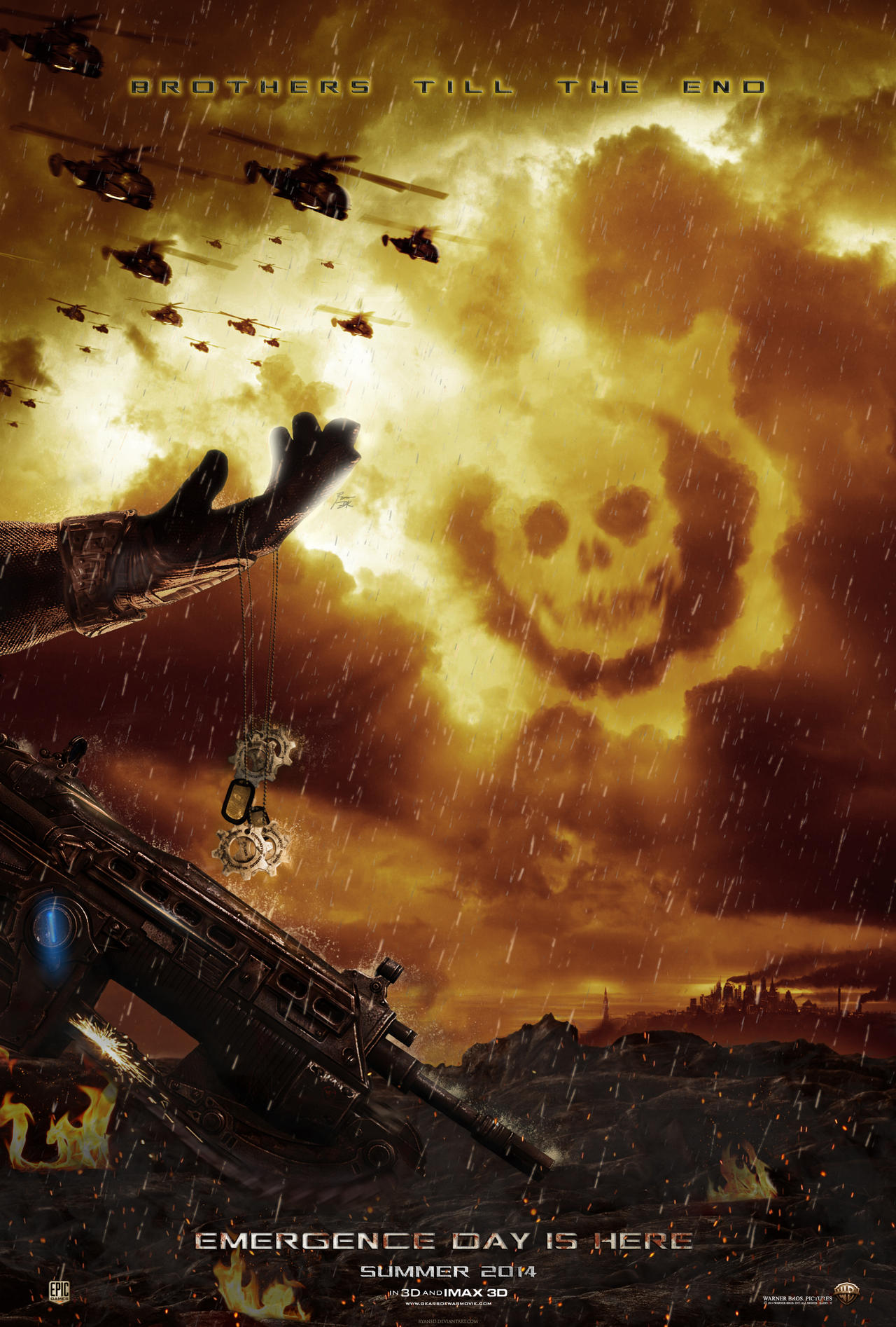 Gears Of War by ryansd