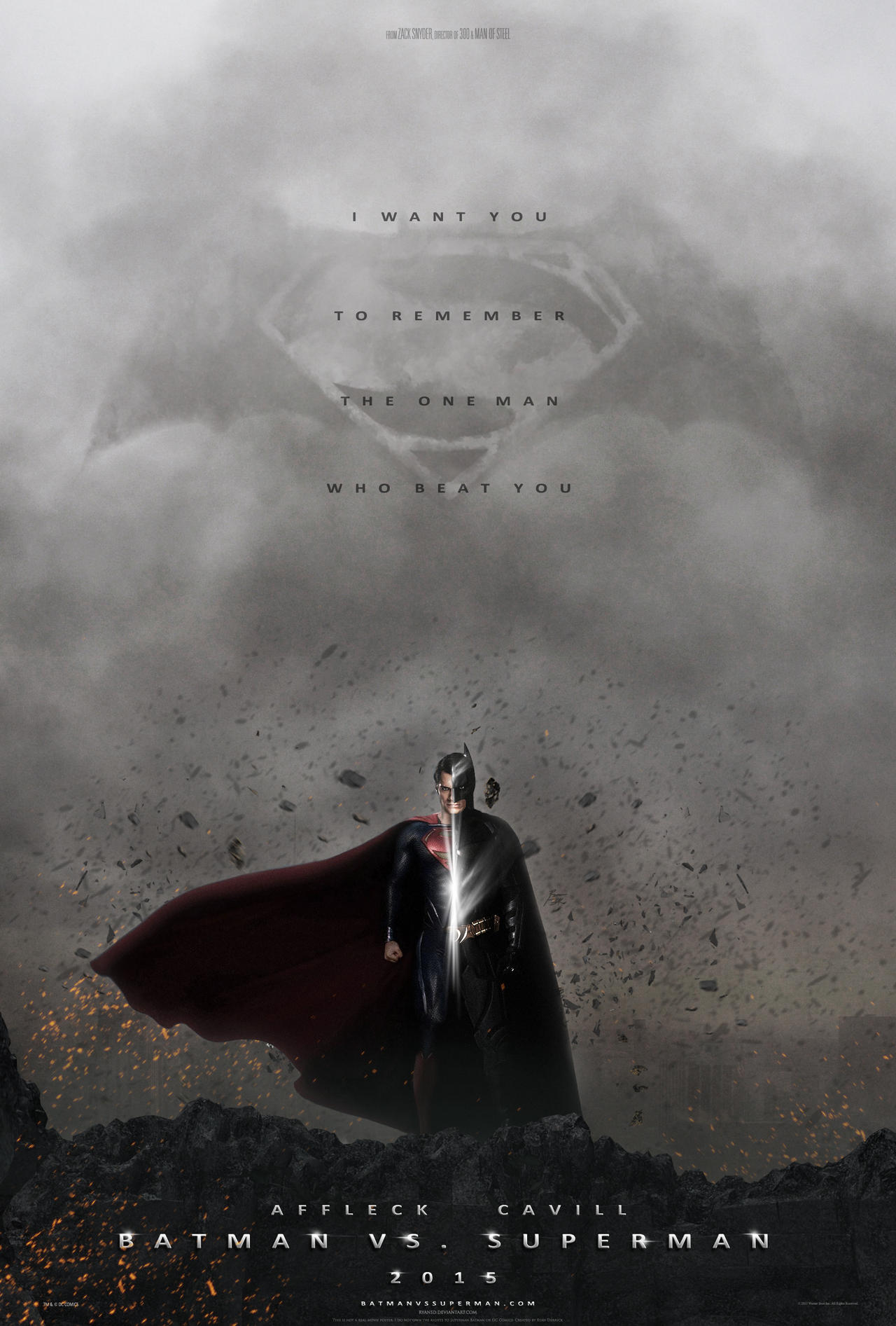 Batman Vs. Superman by ryansd