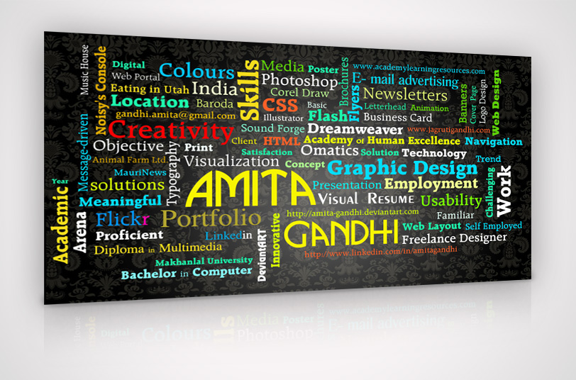 Visual Resume by Amita-Gandhi