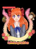 Sakura Chiyo ( speedpaint) by AngelSakana-96