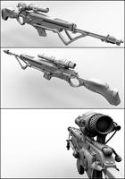 Sniper Rifle by beere