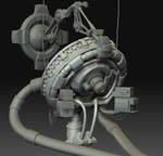 Futuristic Laboratory - WIP