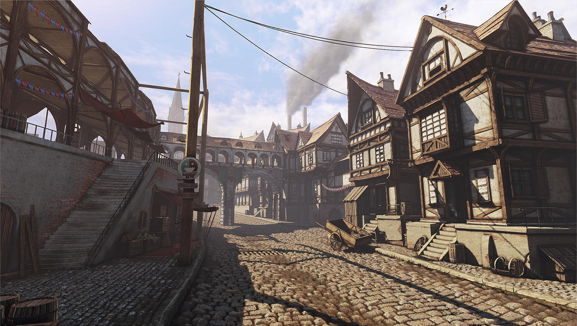 Medieval Town - King's Crossing by beere