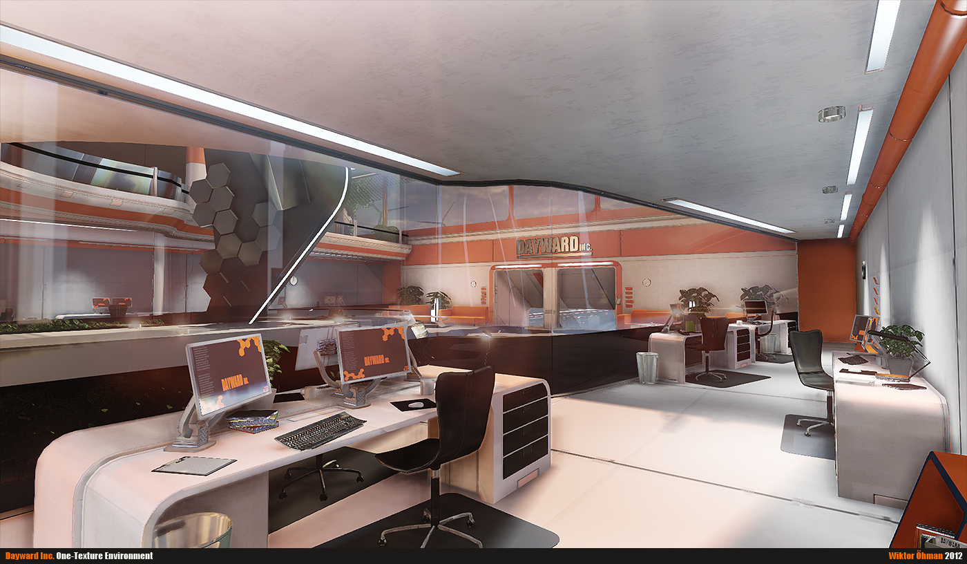 Dayward Inc. Office By Beere On DeviantArt