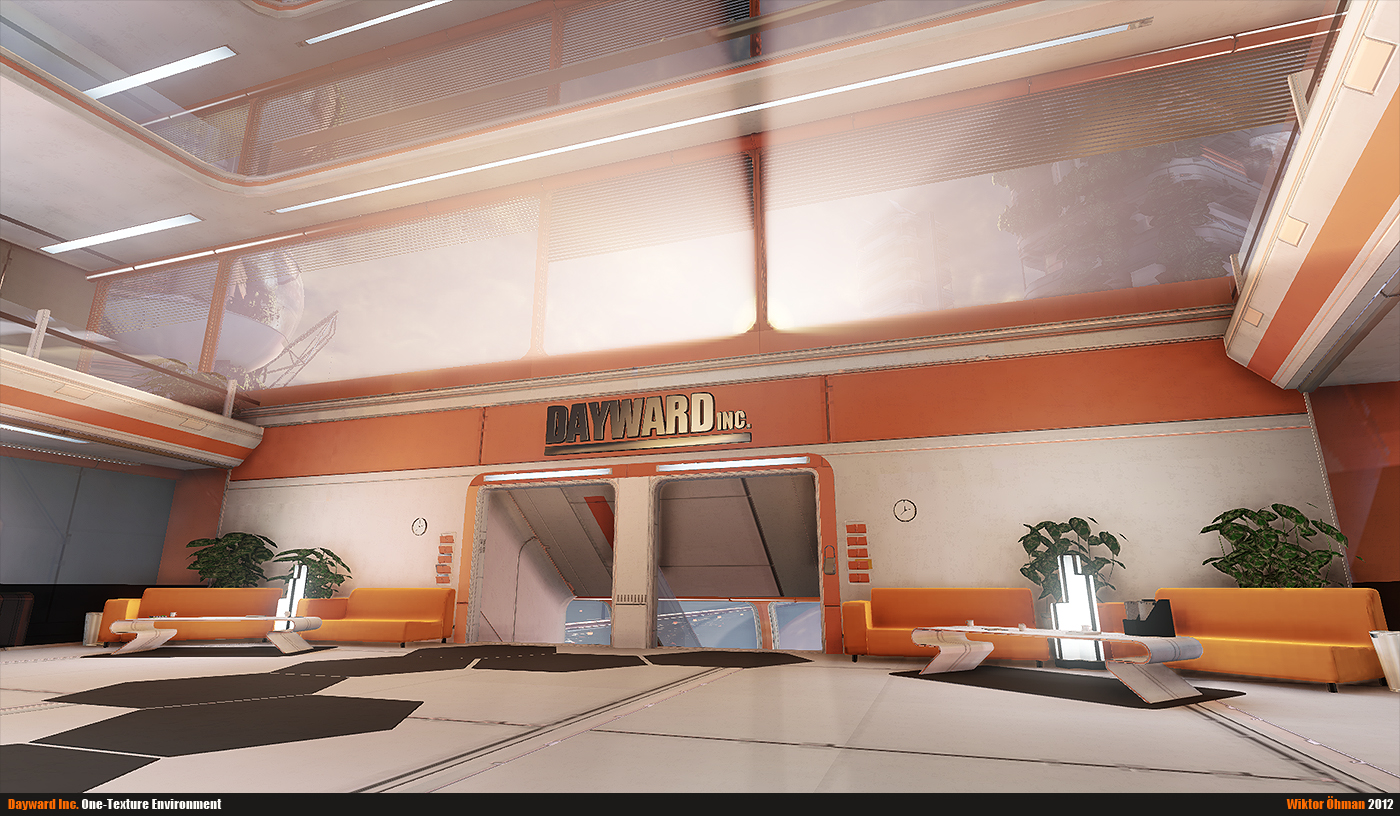 Dayward Inc. Lobby #2 by beere