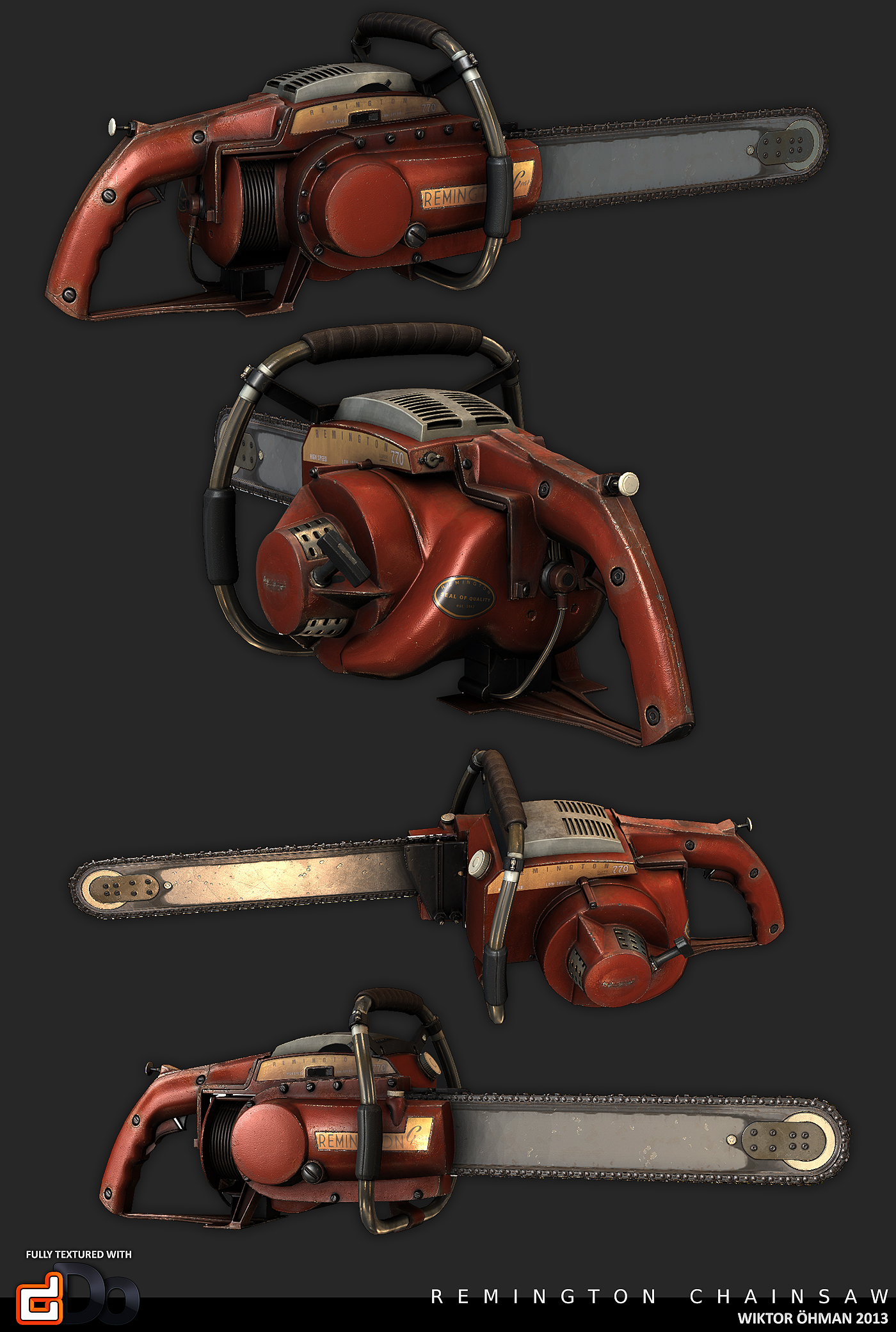 Remington Chainsaw by beere