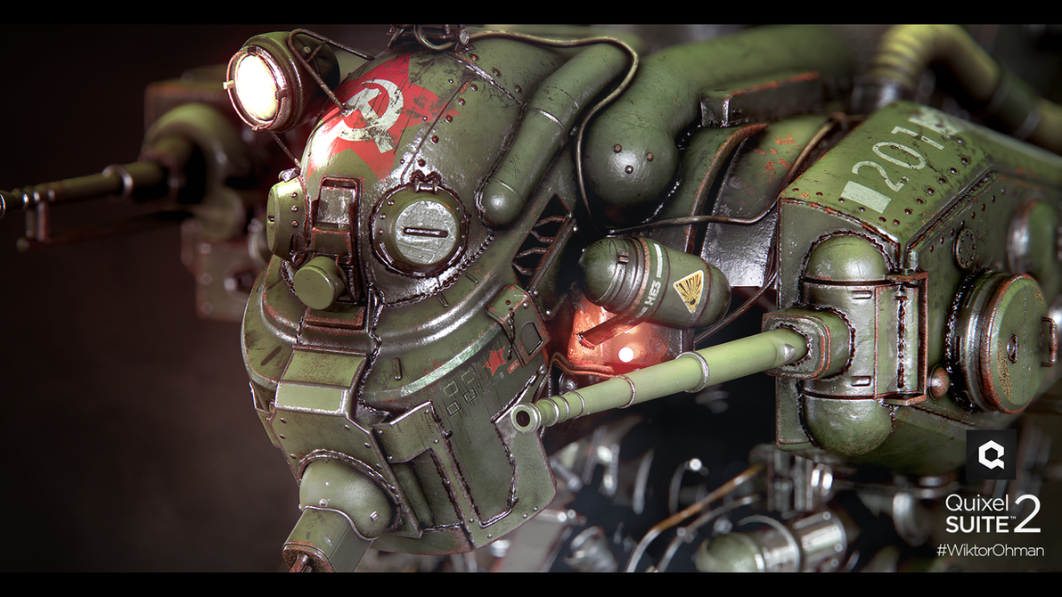 Soviet Mech 2 by beere