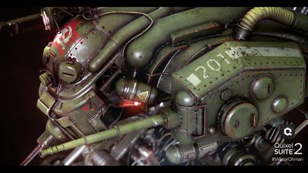 Soviet Mech 3 by beere