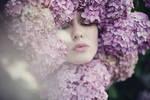 Ann in flowers
