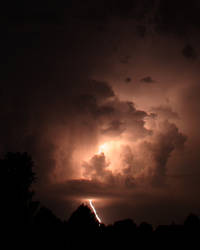 Lightning Strike I by QwikDrah