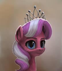 Diamond Tiara Portrait by Robsa990