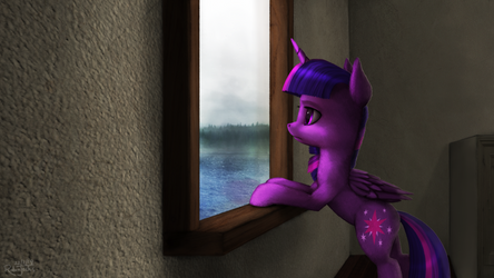 Cloudy Morning by Robsa990
