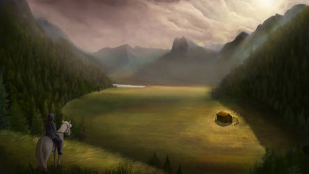 Glade of Solitude by Robsa990