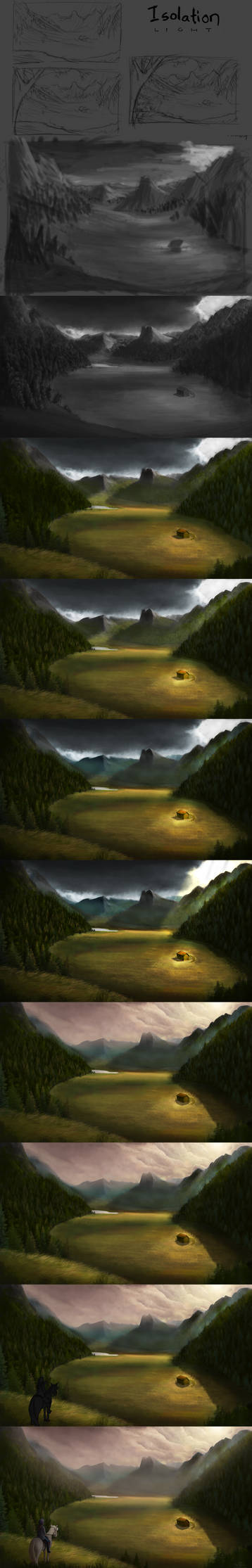 Glade of Solitude Image Lapse by Robsa990