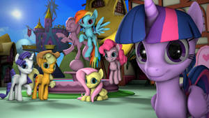 Princess Twilight and her friends
