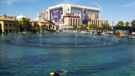Las Vegas-Bellagio fountains