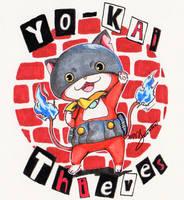 Yo-kai Thieves by crazytreasurestudio