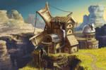 steampunky windmill