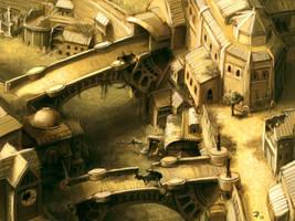 deserted city by ZackF