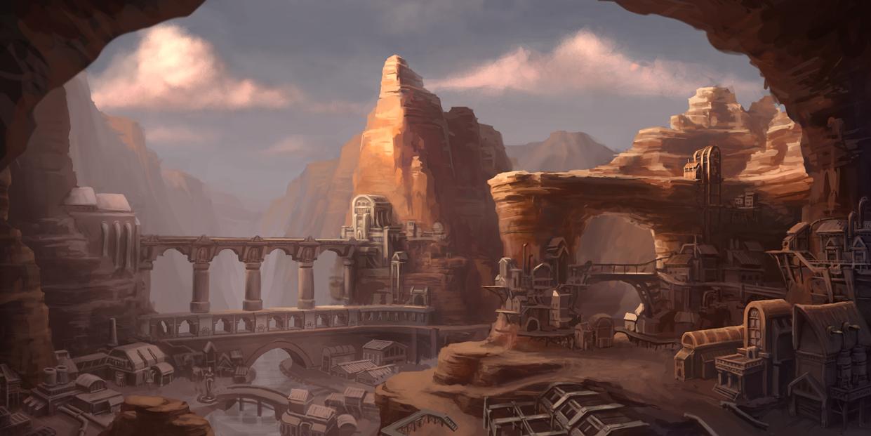 Canyon City by ZackF
