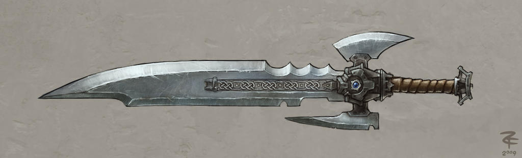 Highly Impractical Sword by ZackF