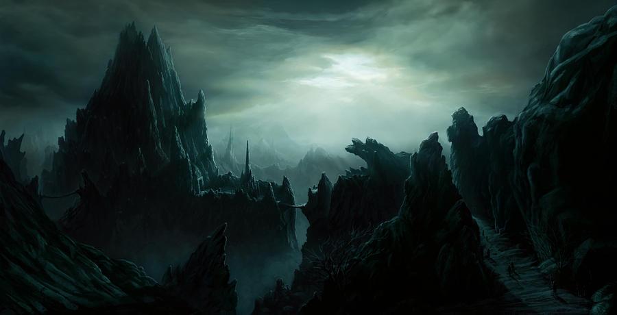 Bizzare landscape by rakkin23