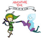 Adventure Time with Fi and Link