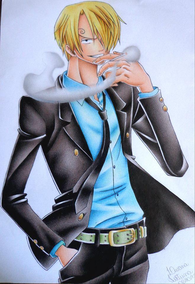 Sanji - One Piece by LuanaFortuna on DeviantArt