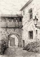 Loket Castle_Inner Court by AncientKing