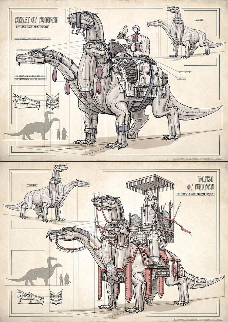 Beast of Burden by AncientKing