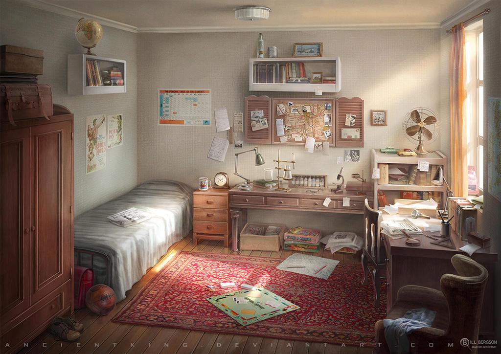 Bill Bergson's room