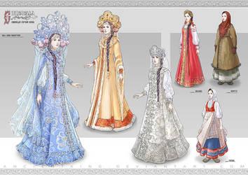 Cinderella - Costume design 1 by AncientKing