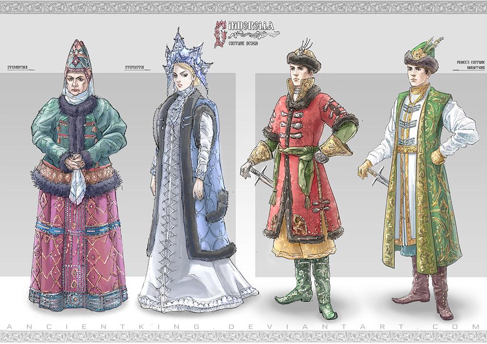 Cinderella - Costume design 2 by AncientKing
