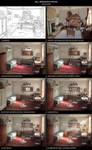 Tutorial - Bill Bergson's room by AncientKing