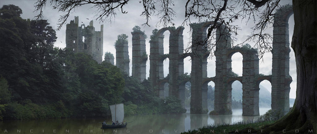 Ancient aqueduct by AncientKing