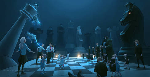 Wizard's chess by AncientKing