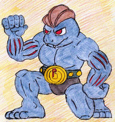 67 - Machoke by JacobMace