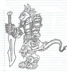 Drakune barbarian