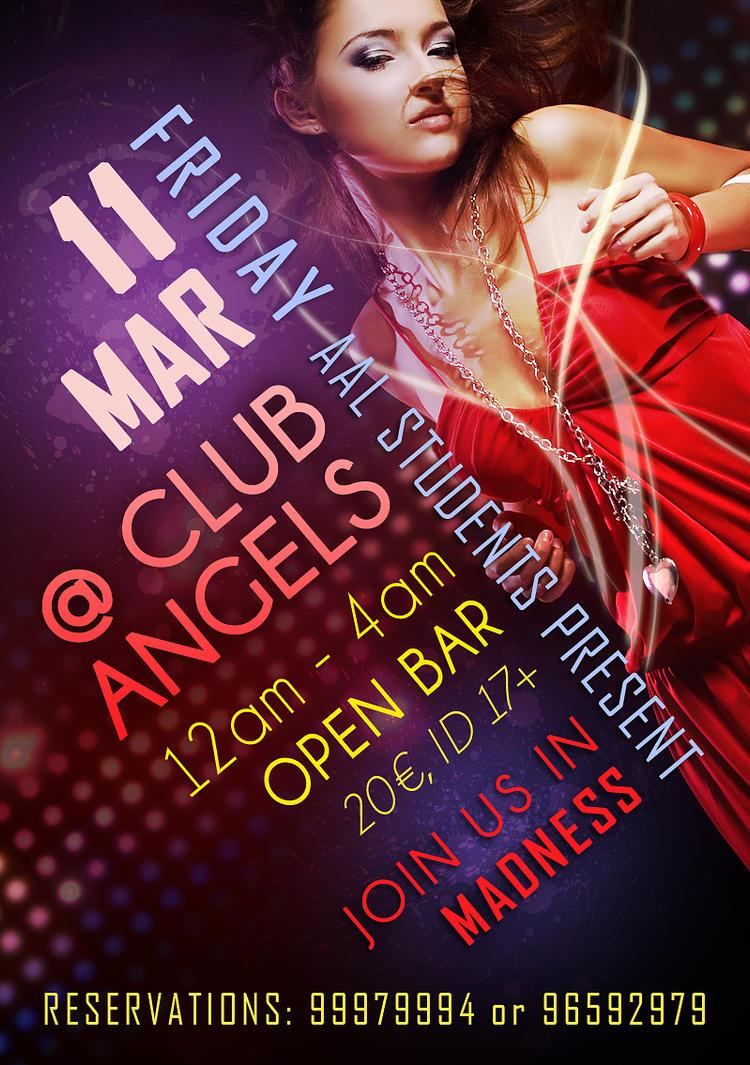 Angels Club Flyer by ipodfrk on DeviantArt – Club Flyer