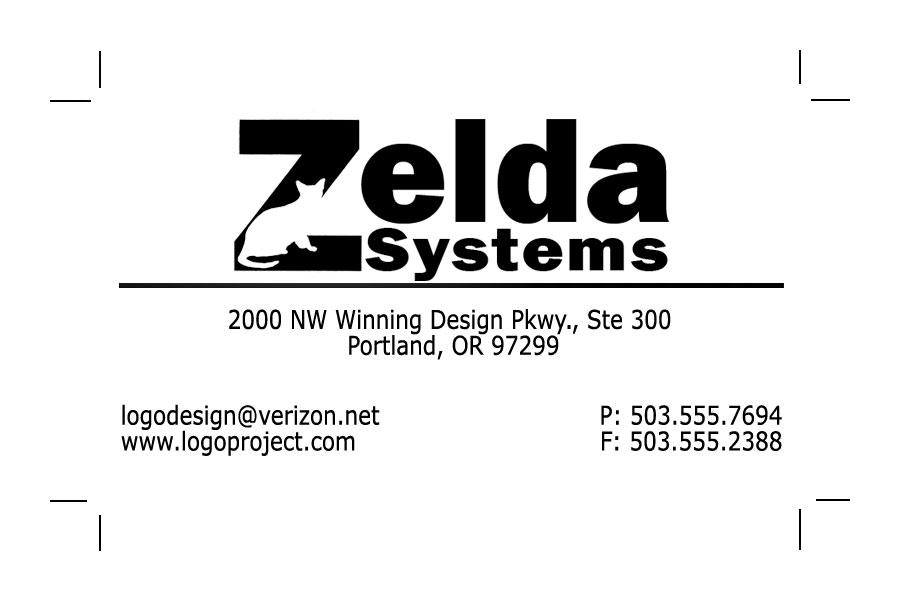 Zelda Systems Business Card by Mechanismatic