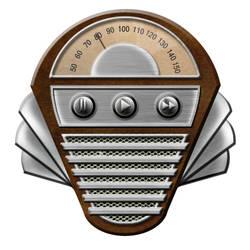 Art Deco Radio - Music Player by Mechanismatic
