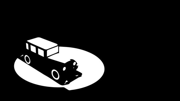 Car In Streetlight by Mechanismatic