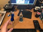 Poki Tush on Desk