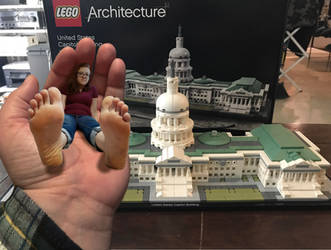 Disappointed Giantess